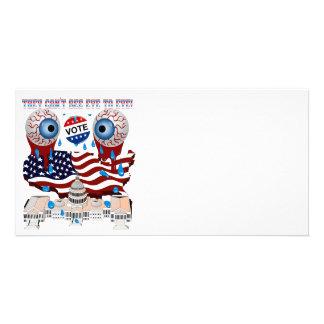 They-Can't-See-Eye-to-Eye-1 Custom Photo Card