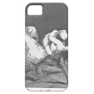 They Carried her Off by Francisco Goya iPhone 5 Covers