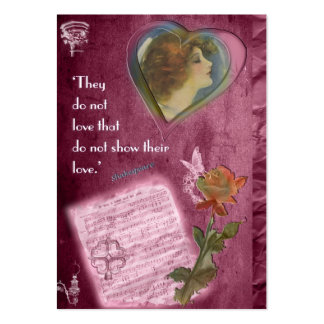 They Do Not Love... Gift Tag Business Card