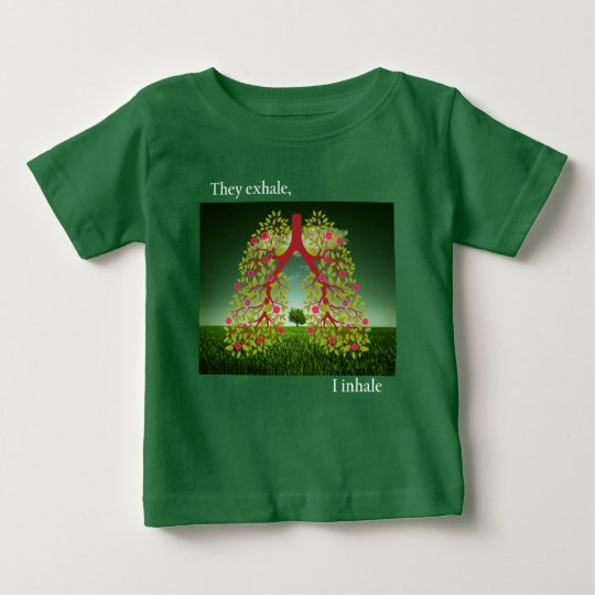 They exhale, I inhale Baby T-Shirt