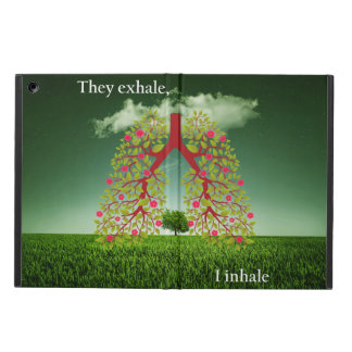 They exhale, I inhale Cover For iPad Air