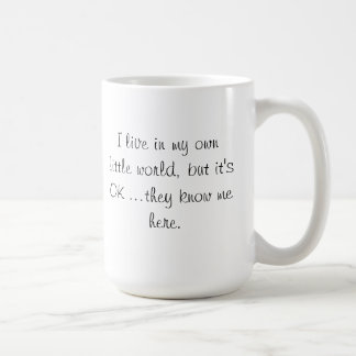 They know me here mug