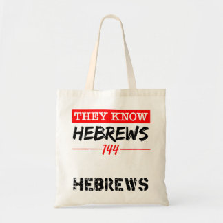 They Know Tote Bag
