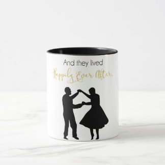 """They Lived Happily Ever After"" Mug"
