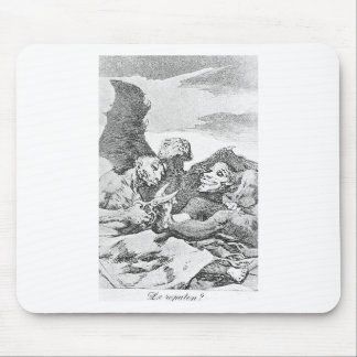 They Pare by Francisco Goya Mouse Pad