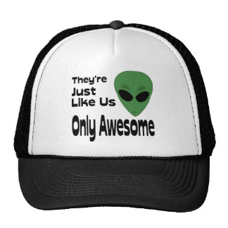 They re Just Like Us Mesh Hats
