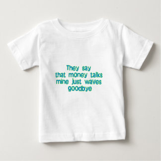 they say that money talks.... tees