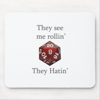 They See me rollin gear Mouse Pad
