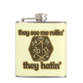 They see me rollin they hatin flasks
