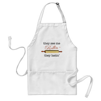 They see me Rollin' - Vintage Funny Baker Standard Apron