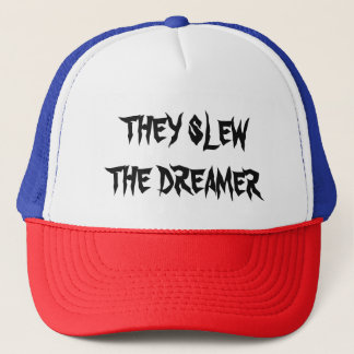 THEY SLEW THE DREAMER - TEXT CAP