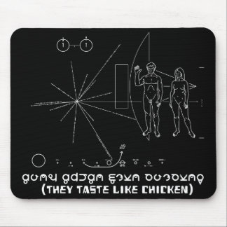 They Taste Like Chicken - Pioneer Plaque Mouse Pad