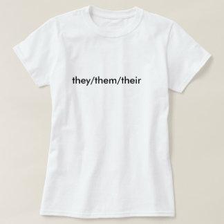 they/them/their pronoun shirt