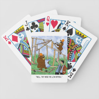 They Were Low Bidders Bicycle Playing Cards