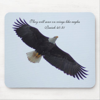 They will soar on wings like eagles mouse pad