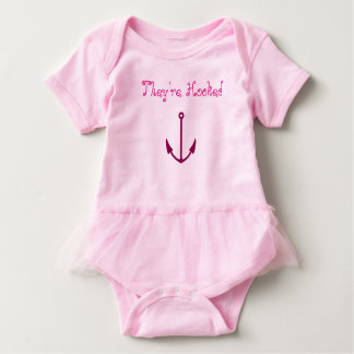 They're Hooked baby tutu bodysuit