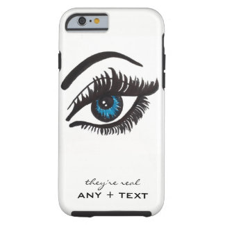 they're real LASH iPhone 6 tough case