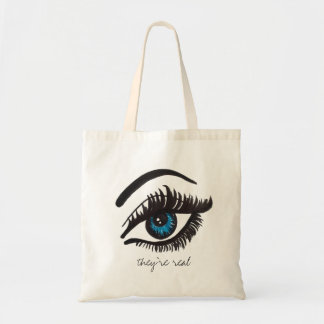 they're real LASH tote