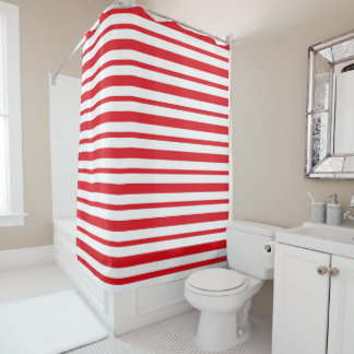 Thick and Thin Red and White Stripes