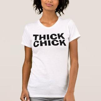 THICK CHICK, Chubby Girls T-shirts
