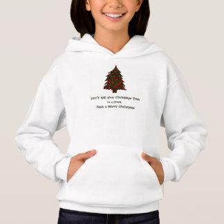 Thick Tnsel Christmas Tree Design