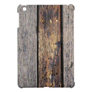 Thick Wooden Planks iPad Case