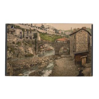 Thiers, Auvergne, France iPad Folio Case