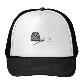 Thimble and Needle Trucker Hat