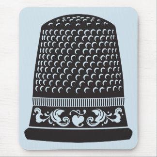 Thimble by FiberFlies Mouse Pad
