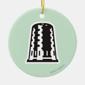 Thimble Ceramic Ornament