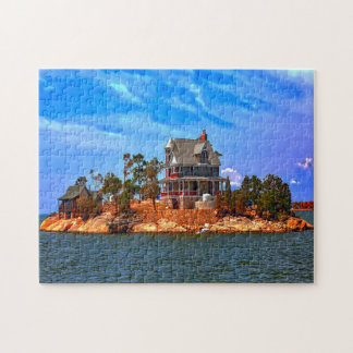 Thimble Island Connecticut. Jigsaw Puzzle