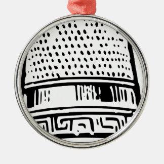 Thimble Metal Ornament