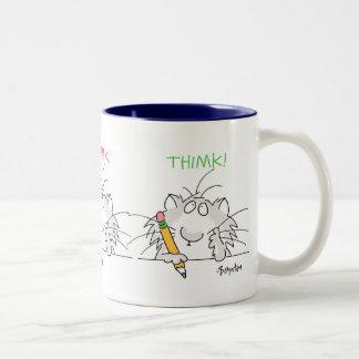 THIMK! by Boynton Two-Tone Mug