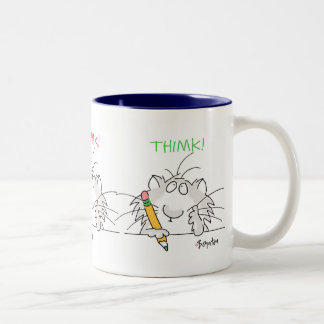 THIMK! by Boynton Two-Tone Coffee Mug
