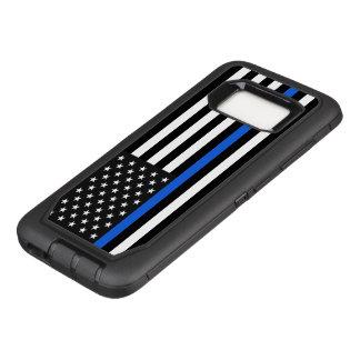 Thin Blue Line American Flag OtterBox Defender Samsung Galaxy S8 Case