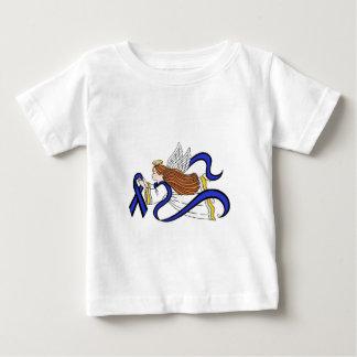 Thin Blue Line Angel Baby T-Shirt