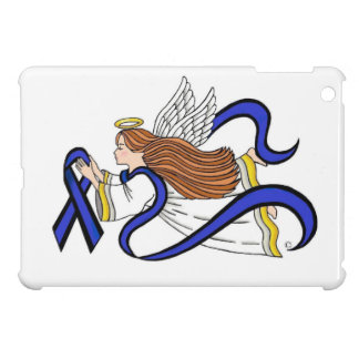 Thin Blue Line Angel iPad Mini Cover