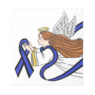 Thin Blue Line Angel Notepads