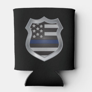 Thin Blue Line Beverage Koozie