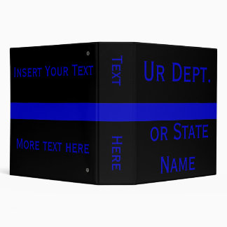 Thin Blue Line Binders