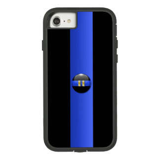 Thin Blue Line Captain Rank (gold) Case-Mate Tough Extreme iPhone 8/7 Case