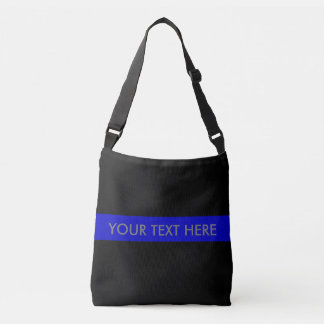 Thin Blue Line Crossbody Bag