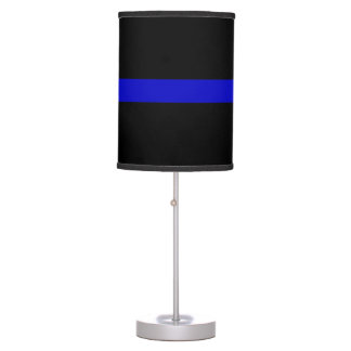 Thin Blue Line Desk Lamps