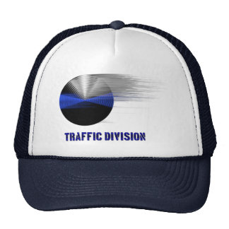 Thin Blue Line Div. Symbol - Traffic Division Trucker Hat