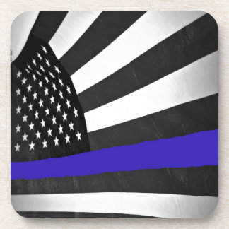 Thin Blue Line Drink Coaster