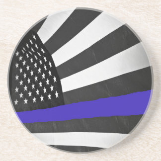 Thin Blue Line Drink Coasters