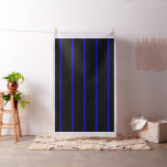 Thin Blue Line Fabric