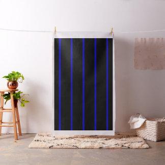 Thin Blue Line Fabric