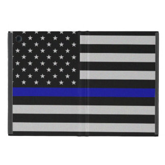 Thin Blue Line Flag iPad Mini Case