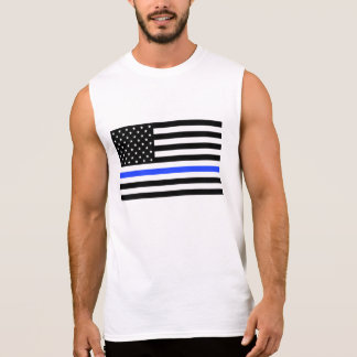 Thin Blue Line Flag men's shirt